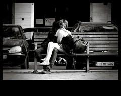 (Luc AC) Tags: love public lover banc amoureux lige