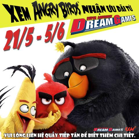 XEM PHIM ANGRY BIRD NHẬN NGAY GAME BOWLING