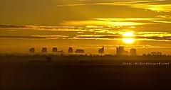 Sacramento sunset (SLDdigital) Tags: city sunset sky sun skyline clouds landscape outdoors sacramento sacramentophotographers slddigital