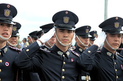 Officer Salute (funkallen) Tags: day salute police asuncion paraguay independence greeting nacional officer policia
