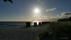 Sonnenaufgang am Strand von Zingst (ursula.kluck) Tags: strand meer natur sonnenaufgang ostsee zingst fischlanddarszingst