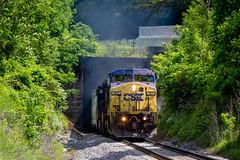 Vasper Tunnel (Peyton Gupton) Tags: city lake jasper tn sub hill tunnel kd csx csxt
