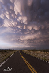 (facebook.com/michaelpaulphotoworks) Tags: road arizona storm southwest weather clouds drive evening driving wideangle americansouthwest