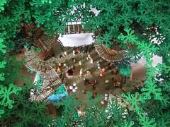 Ewokdorf - Dorfplatz 01 (KW_Vauban) Tags: starwars lego endor ewokvillage episodevi thereturnofthejedi