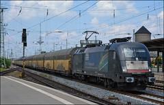 TXL 182 567 (OVNL) Tags: auto u2 br siemens zug 64 pct es taurus trein 182 067 ects 567 baureihe mrce dispolok