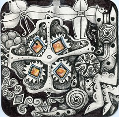 Jewelry Box (molossus, who says Life Imitates Doodles) Tags: review giveaway zentangle zentangleinspiredart ancientpatternsformoderntangling