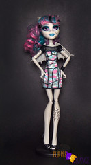 Rochelle Zombie Shake (PurpleandOrangeMH) Tags: rochelle basic soll mueca monster high punta arenas chile orange purple freak du chic ghoul chat haunted scaris zombie shake ghouls night out