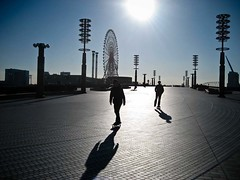 Travel & Leisure (708718) Tags: travel japan tokyo asia shadows skateboarding skaters ferriswheel amusementpark odaiba skaterboys charleslamb palettetown ianreid