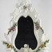 349. Antique Continental Porcelain Dressing Mirror