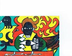 PAP-DAV-12 (moralfibersco) Tags: art latinamerica painting haiti gallery child fineart culture scan collection countries artists caribbean emerging voodoo creole developingcountries developing portauprince internationaldevelopment ayiti
