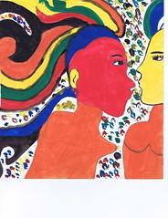 PAP-DAV-22 (moralfibersco) Tags: art latinamerica painting haiti gallery child fineart culture scan collection countries artists caribbean emerging voodoo creole developingcountries developing portauprince internationaldevelopment ayiti