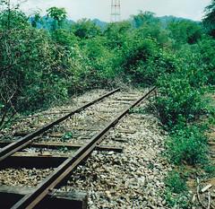 Thailand - Burma Railway - The waterfall extention (railasia) Tags: 2001 thailand track underconstruction infra kanchanaburi srt burmarailway metergauge sayok extensionwaterfall