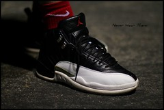 WDYWT 3-3-12 (Never Wear Them) Tags: red white black 2004 wearing play you air off nike wear jordan what playoffs 12 did today xii playoff 2011 wdywt jordanxii jordan12playoff jordanxiiplayoffs