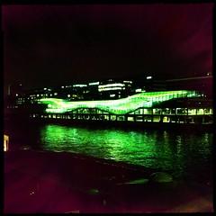 Paris - The Cit de la Mode et du Design (berardici) Tags: paris seine muse 400 200 100 300 500 nuit filmblankonoir objectifmattyaln mattyalnblankonoir