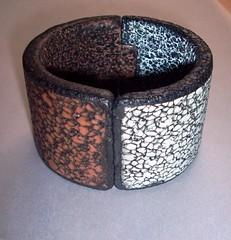 WS BETTINA - CLUB 52-7 (VIVIANE MARX) Tags: armband handmade artesanato struktur bijuteria polymerclay bracelet pulseira kato ceramicaplastica katopolyclay club52