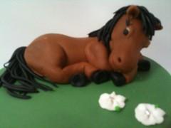Horse cake topper (Kageting.dk) Tags: cake caketopper modelling kage fondant fdselsdagskage sugarmodelling