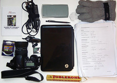 76/366 (DavidAndersson) Tags: above camera pen canon bag hp sony sigma kingston stuff math calculator whatsinyourbag toblerone day76 reklam hoya 366 thinsulate nexans sonydscw110 2012yip 3662012