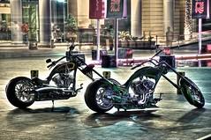 V-Twin Engines (Adnan Ghosheh) Tags: bear dog photography town photo big nikon dubai uae motorcycles down khalifa engines nikkor vtwin athena hdr burj adnan d90 ghosheh