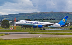 Thomas Cook G-FCLK B757-200 (Cameron Burns) Tags: uk greatbritain plane canon airplane airport europe mt action unitedkingdom thomas glasgow aircraft aviation cook aeroplane gb boeing airlines paisley airliner aerospace gla airfield glasgowinternationalairport scotlan thomascook boeing757 b757 glasgowairport boeing757200 b757200 550d thomascookairlines gfclk egpf abbottsinch canon550d canoneos550d eos550d