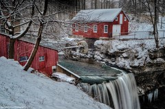 snow at decew falls (Rex Montalban Photography) Tags: winter canada nikon waterfalls stcatharines hdr hss decew d7000 powerglen hdrterrorist rexmontalbanphotography sliderssunday