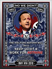 No We Didn't - Warfare on Welfare (Byzantine_K) Tags: city uk party green london westminster hospital election quiet cut quote propaganda lies political politics satire nazis protest obey bank parliament smith virtue demonstration v cameron nhs depression disabled fairey labour confucius parody capitalism zombies vote anonymous liar cuts fascist spartacus freud fraud osborne burley lords tory greed vendetta 2012 2010 liberals corrupt reform demonstrate welfare tories disability banker atos liberaldemocrats wrb libdems clegg grayling lansley davidcameron cutback miliband occupy blacktriangle analects nationalhealth iainduncansmith lordfreud