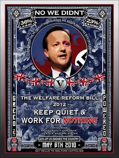 //www.flickr.com/photos/43207463@N06/6847632761/: No We Didn't - Warfare on Welfare