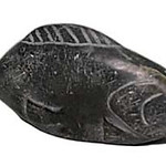 "<b>Lump Fish</b><br/> Jimmy Nauya (1955-) ""Lump Fish"" Stone, ca. 1971-1972 LFAC #1994:01:17<a href=""http://farm8.static.flickr.com/7192/6852408367_40a354dbe3_o.jpg"" title=""High res"">∝</a>"