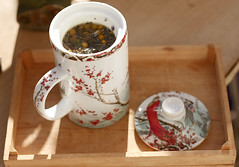 herbal tea (Vlien*) Tags: nature dutch spring tea mug herbaltea lente teatime herbal herbals