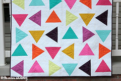 Triangle Toss--McCall's Quilting (Little Miss Shabby) Tags: artgallery mccallsquilting patbravo pureelements