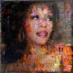 Whitney Houston (qthomasbower) Tags: video mosaic houston whitney whitneyhouston qthomasbower