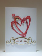 120214 Linda love Lots of Love (Decoratie Coudenys - a Lut of stamps (Lut)) Tags: love valentine linda distress cuttlebug bigjuicy alutofstamps cl012 k5553 s4235fancytags