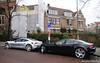 Double Fisker Karma (Jeroenolthof.nl) Tags: old two amsterdam electric oudzuid jeroen photographer south automotive double karma twice range oud henrik jordaan zuid extender fisker olthof jeroenolthofnl jeroenolthof
