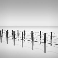 F O U R T E E N + 14 (Weeman76) Tags: longexposure sea bw seascape monochrome mono minimal le minimalist westonsupermare wsm nd110 paulwheeler afszoomnikkor2470mmf28ged niksoft silverefexpro2 paulsimonwheeler