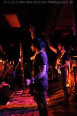 D.R.U.G.S. (Hiding In Horrible Weather) Tags: seattle tour live sin drugs bassist flippingoff guitarist elcorazon bassplayer nickmartin strengthinnumbers adamrussell destroyrebuilduntilgodshows