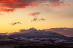 Cotton Wool (Natasha Bridges) Tags: morning mist snow sunrise dawn shropshire cottonwool wrekin