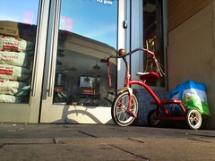 Even little guys like five guys (kingpinphoto) Tags: tricycle columbiaheights fiveguys joeldidriksen wwwkingpinphotocom