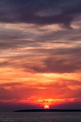 Sunset over Brijuni Island