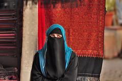 Niqab (DSC_4886) (alexpenev) Tags: woman india head delhi muslim hijab niqab covering