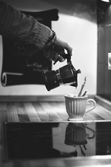 morning coffee (donchris!) Tags: morning cup kitchen tasse coffee caf breakfast cafe break kaffee kche splash prima desayuno petit frhstck colazione djeuner niadanie