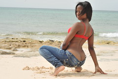 DSC_3240 (vaughnscriven) Tags: red sea beach water girl youth fun rocks sam bra young fresh teen bahamas pure 2010 redbra vaughnscriven vaughnscrivenphotography