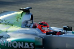 Michael Schumacher MERCEDES AMG MGPW03  F1 Montmeló Test Days 2012 3th. day DSC02655e (antarc foto) Tags: formula1 michael schumacher mercedes amg test days 2012 day formula circuit de catalunya montmeló mgpw03 mgp w03 f1 formulaone 3rd barcelona barcelone