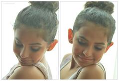 Sarah Smiles ~ (ShadenAlawfi ~) Tags: light cute girl sarah nikon pretty natural little smiles makeup curly updo d60 mashaallah