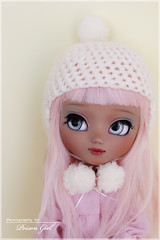 Macaroon - Pullip Nahh-Ato custom (-Poison Girl-) Tags: new pink winter white girl hair eyes doll dolls eyelashes coat tan makeup macaroon wig groove pullip poison custom pullips poisongirl ato tanned customs skintone faceup nahh eyechips junplanning nahhato rewigged pullipnahhato pullipcustom rechipped