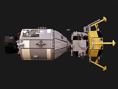 Apollo 11 (Legohaulic) Tags: moon lego space nasa commission apollo11 lunarlander commandmodule servicemodule