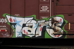 Tars (A & P Bench) Tags: street art train graffiti fan paint steel rail railway spray graff freight benching