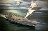 Vietnam Fighters (Racerx031) Tags: art film superia paintings f100 canvas oil pensacola photosofart navalairmuseum
