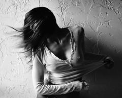 * (nikkidelmont) Tags: bw motion texture girl self nikon portait sensual nikkidelmont
