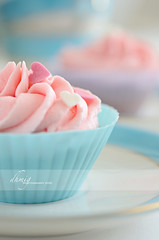 Butter, sugar and imagination (dhmig) Tags: pink italy stilllife food macro closeup dessert nikon heart naturallight sugar delicious cupcake butter sweets icing treat temptation sweetness frosting greed gluttony delicacy buttercream foodphotography 50mmf28 softcolors softcolours cupcakefrosting siliconebakingcups nikond7000 dhmig dhmigphotography cakesdecoration