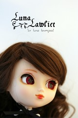 Luna Lawliet ~ pullip Stica (Luna 愛良い) Tags: brown wig pullip stica