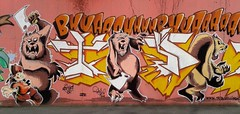 Bear-sek (theuncle12) Tags: bear street urban blackandwhite italy white streetart black milan art graffiti italia milano samsung spray triennale graffito murales bianco nero biancoenero orso sprayart bovisa allchrome tbvs villapizzone triennalebovisa
